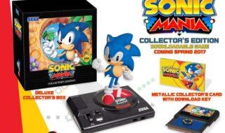 La edición de coleccionista de Sonic Mania llegará a Europa