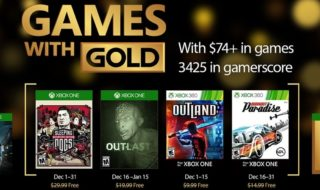 Sleeping Dogs y Outlast, entre los Games with Gold de diciembre