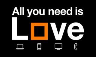 La nueva oferta convergente de Orange, Love Familia Total, incluye conexión de fibra de 500 Mb simétricos
