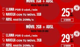 Pepephone renueva sus tarifas de ADSL + móvil
