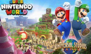 Super Nintendo World llegará en 2020 al parque de Universal Studios en Osaka