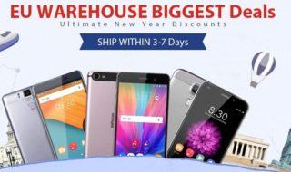 Una selección de teléfonos están de oferta por tiempo limitado en Gearbest