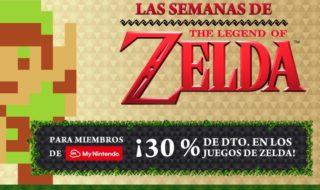 Los juegos de Zelda están de oferta en la eShop