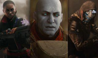 Algunos de los principales protagonistas de Destiny 2