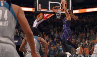 La WNBA estará presente en NBA Live 18