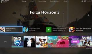 Así luce la próxima gran actualización del dashboard de Xbox One
