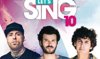 Estas son las canciones disponibles en Let's Sing 10