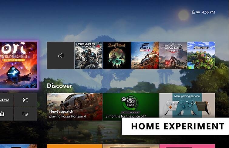 Xbox One Experiment