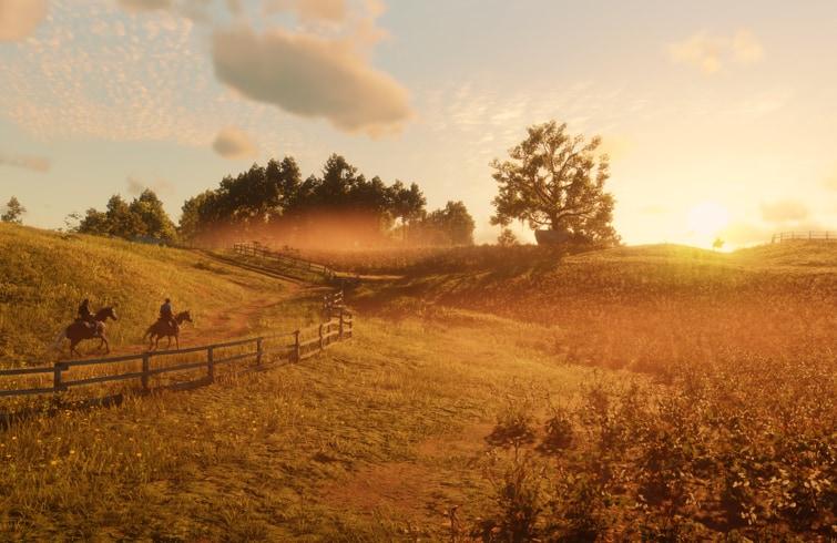 Red Dead Redemption 2 - Paisaje