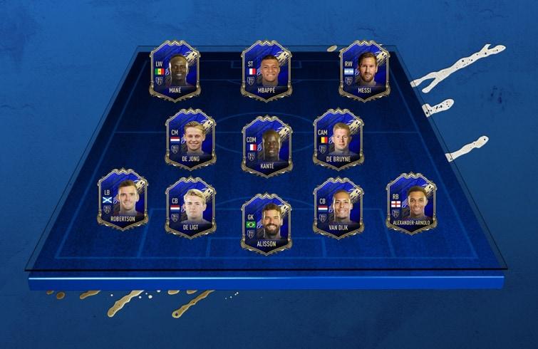 FIFA 20 TOTY
