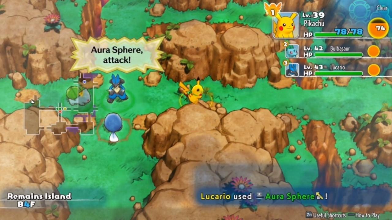 Pokémon Mundo Misterioso: Equipo de Rescate DX - Captura 1