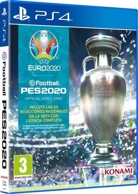 PES 2020 PS4 UEFA Euro 2020