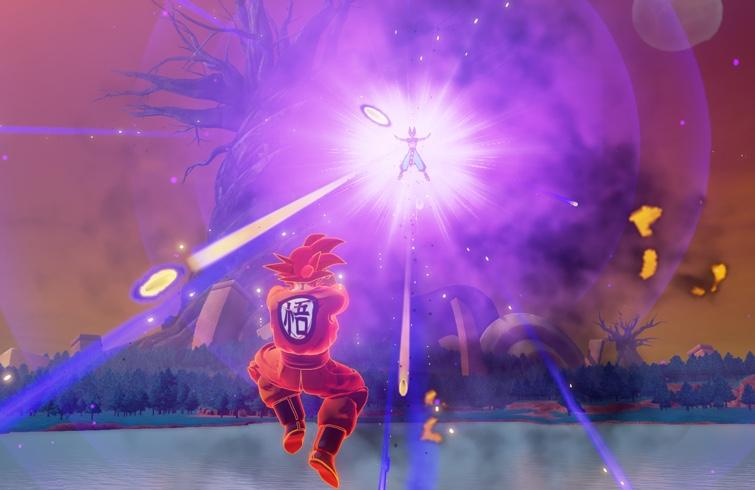 Dragon Ball Z: Kakarot - Barrot & Goku