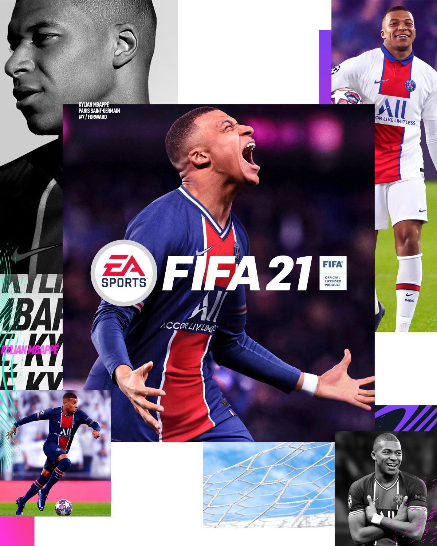 FIFA 21 - Portada Standard Edition