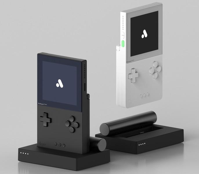 Analogue Pocket - Black and white