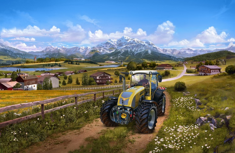 Farming Simulator 19 - Alpine Farming