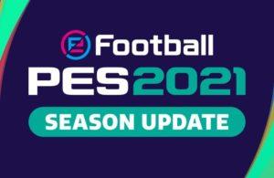 PES 2021 - Season Update