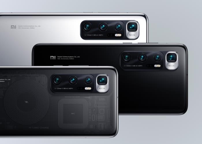 Xiaomi Mi 10 Ultra - Colores