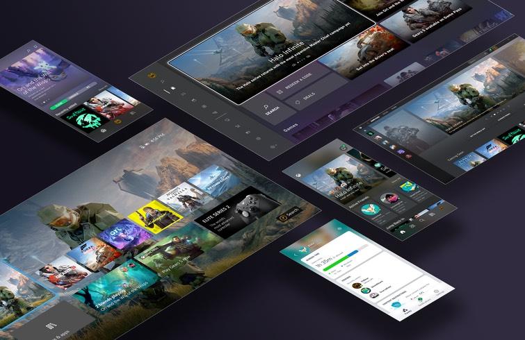 Xbox Nueva interfaz 2020