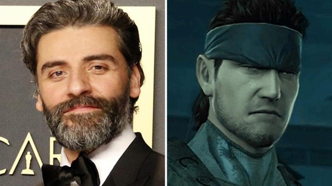 Oscar Isaac - Solid Snake