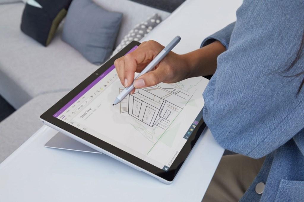 Surface Pro 7+ - Modo tablet