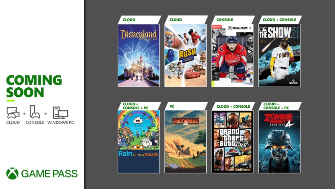 Xbox Game Pass - Abril 2021