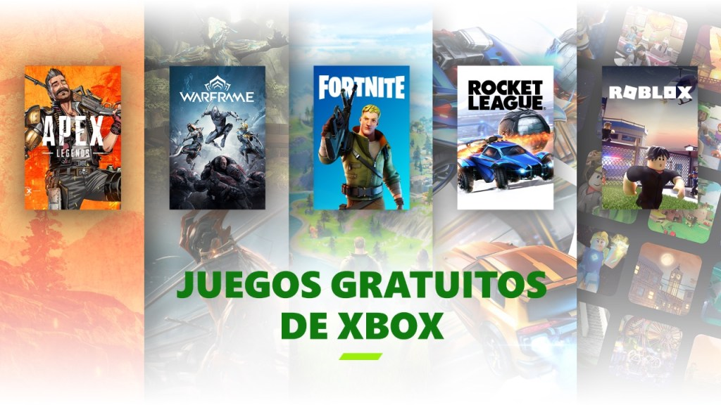 Juegos free-to-play Xbox