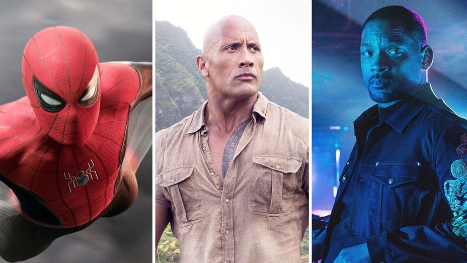 Spider-Man, Jumanji, Bad Boys