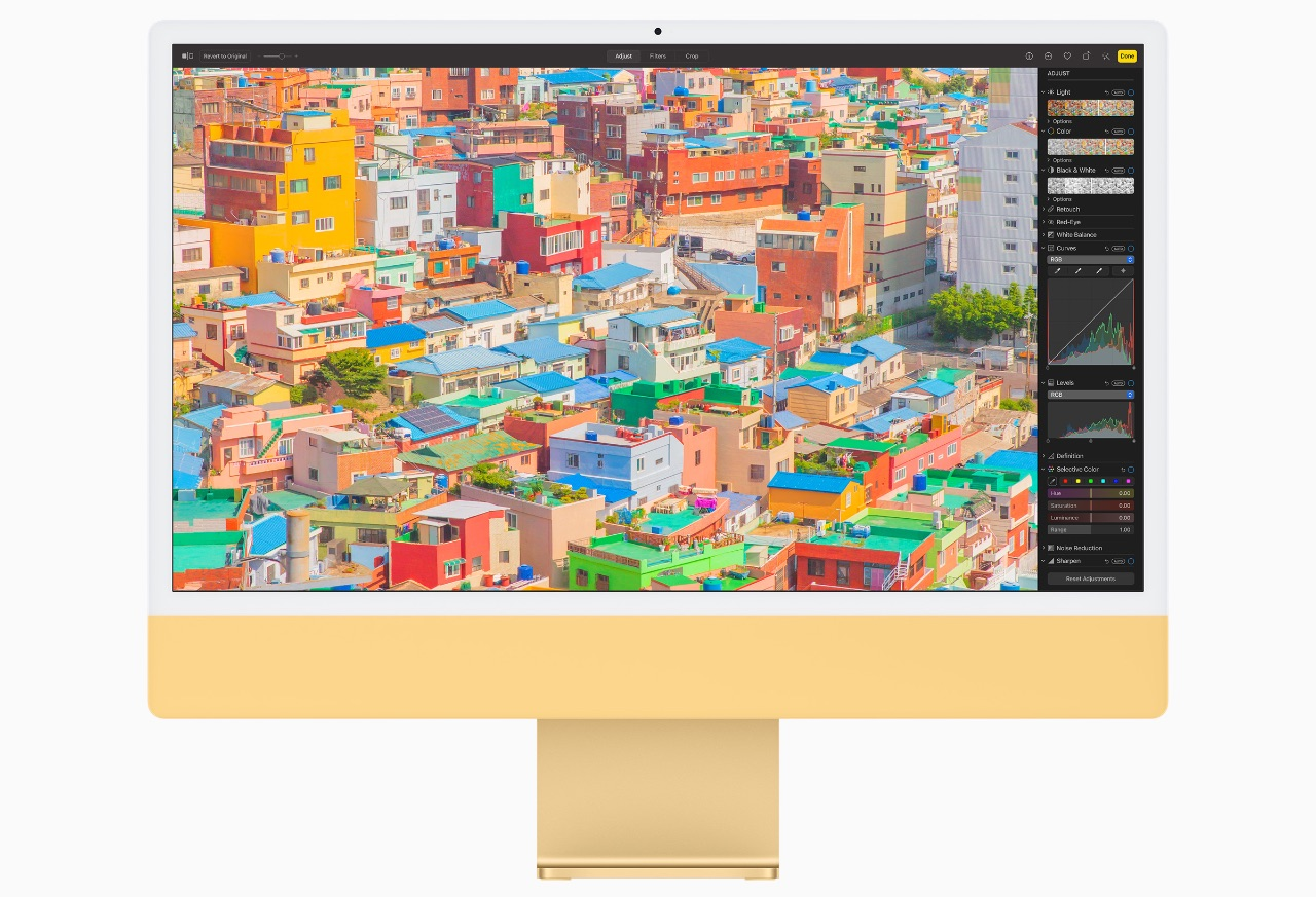 iMac 2021 - Amarillo