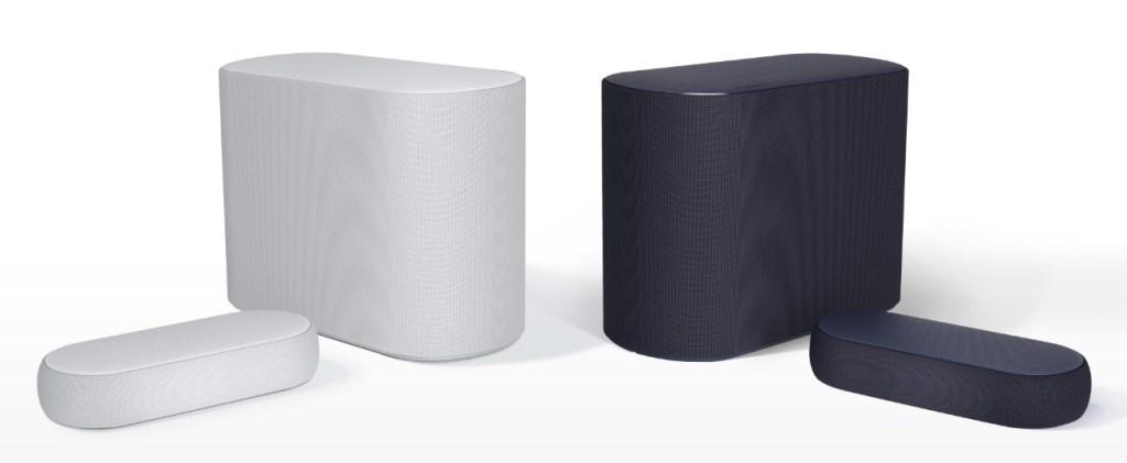 LG QP5 Éclair - Blanco y negro