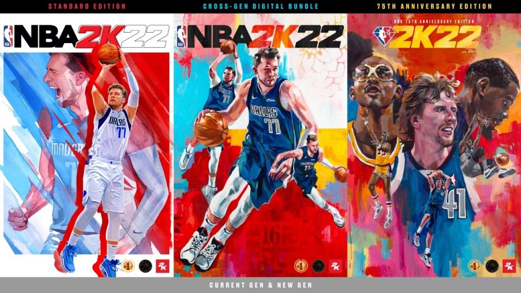 NBA 2K22 - Portadas