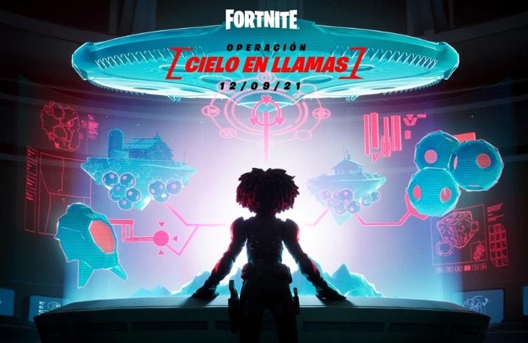 Fortnite - Operación Cielo en llamas