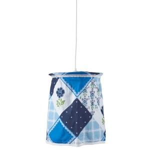 Jollein Hanglamp Flower patchwork blue