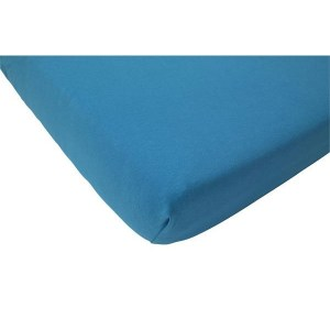 Jollein Hoeslaken Organic Jersey 60x120cm turquoise