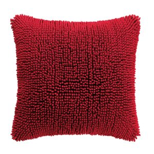 Home Living Sierkussen Shaggy Red