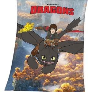 Dragons Fleece Deken 130/160cm