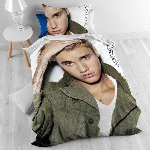Justin Bieber Dekbedovertrek Live!