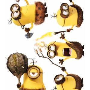 Muursticker Minions Prehistorie