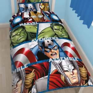 Dekbedovertrek Avengers Assemble