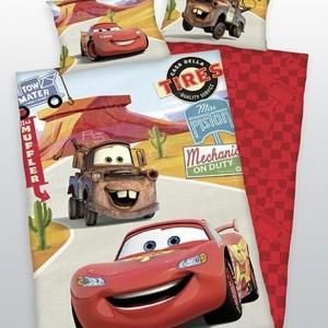 Cars Ledikant Dekbed Flanel Pixar