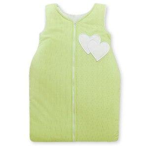 My Sweet Baby Slaapzak Two Hearts Stripes Groen