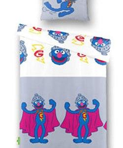 Sesamstraat Mascotte Grover Dekbed