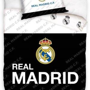 Real Madrid Dekbedovertrek Zwart/Wit