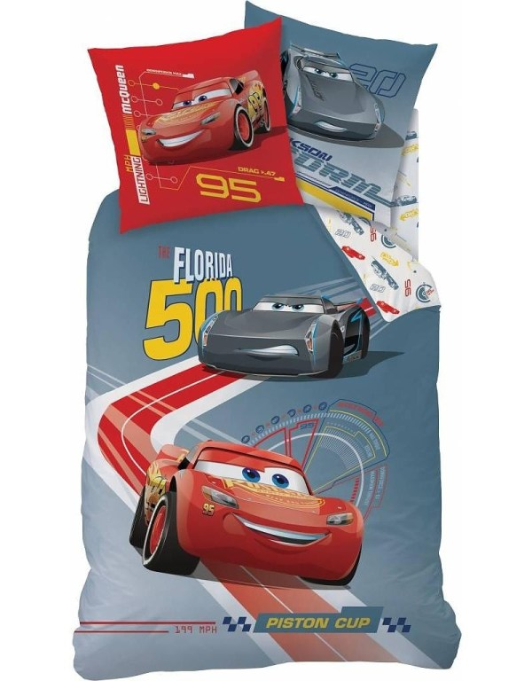 Disney Cars dekbedovertrek Race