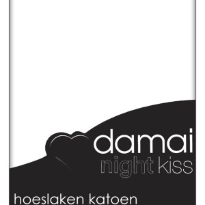 A-Keuze - Damai Hoeslaken Wit (Katoen)-90 x 210 cm
