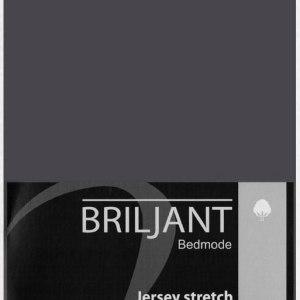 A-Keuze - Topper Hoeslaken Briljant Jersey Antraciet-160 x 200 cm