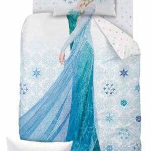 Disney Frozen dekbedovertrek Frozen Ice 140x200cm
