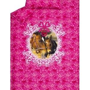 Beddinghouse Kids Dekbedovertrek Lovely Horse Roze