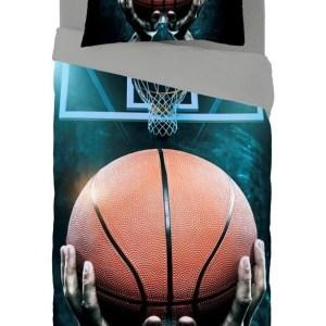 Zavelo Dekbedovertrek Basketbal-140x200/220