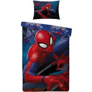 Spiderman dekbedovertrek Power Blauw